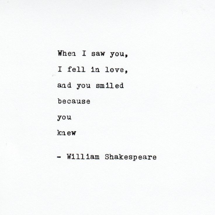 William Shakespeare Love Quote Made On Typewritertypewriter Quote Famous Quotes By Vintagetypedquotes On