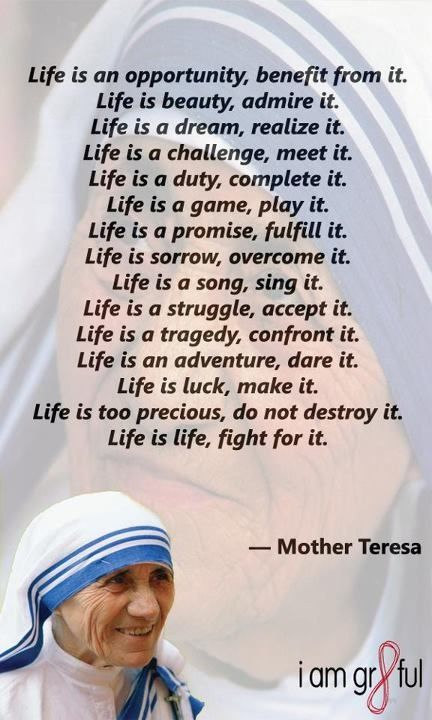 Mother Teresa Www Lovehealsus Net She Did All Of This And Much More