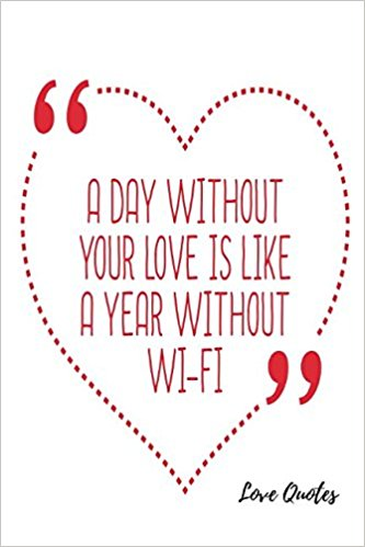 Love Quotes Blank Ruled Book Journals For All  Amazon Com Books
