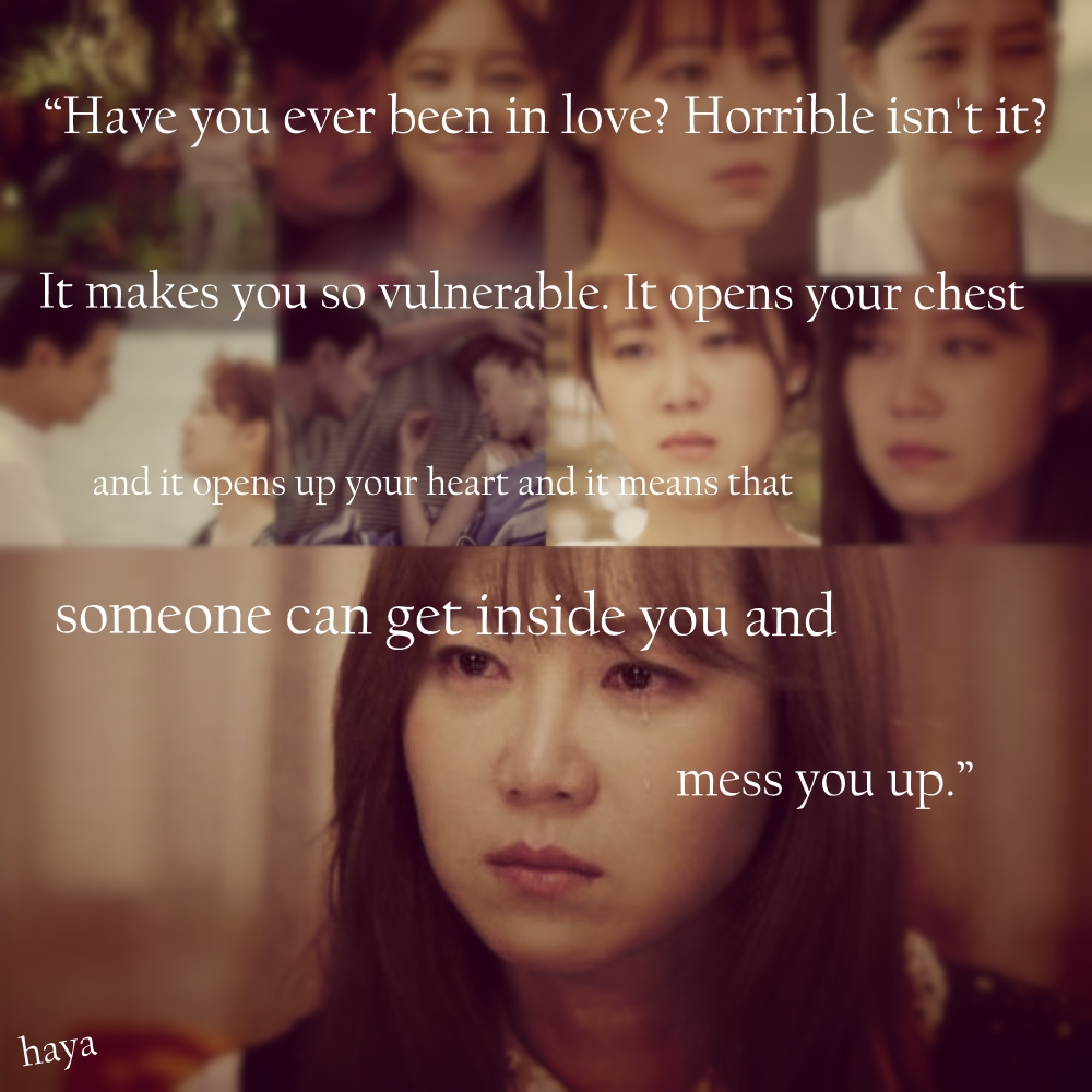 Its Okay Its Love Its Okay Thats Love Gong Hyo Korean Drama Quotesdrama Koreadrama Movieskorean