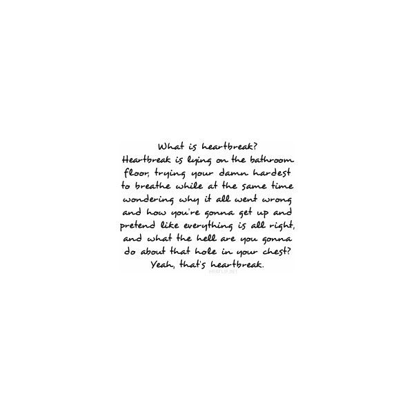 sad love quotes heart broken quotes sayingimagescom - 600×600