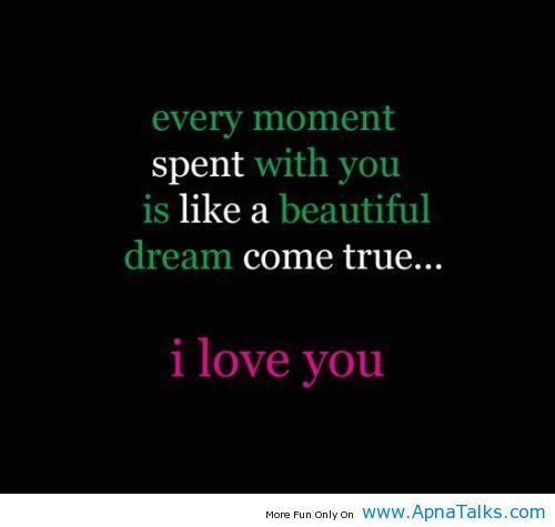 Love Quotes For Him_every Moment Love Quote Moment