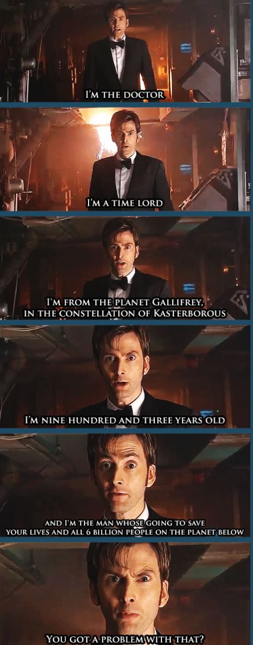 Farewell Letter From Tenth Doctor Quotesdoctor Who Love Quotespay Attention Geek