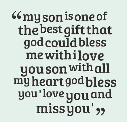 Son Quote My Son Is One Of The Best