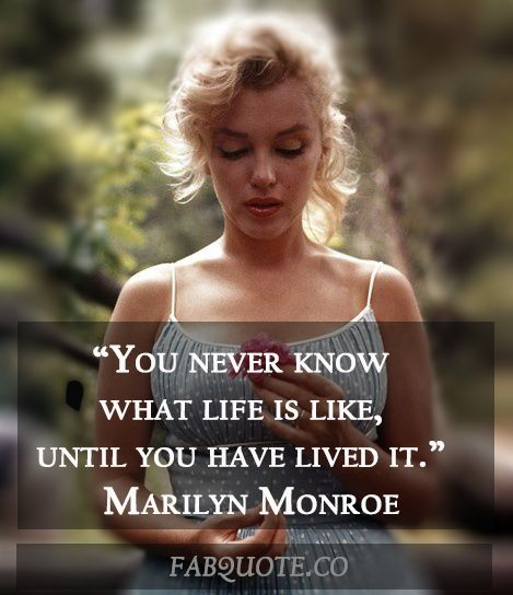 Marilyn Monroe Quotes That She Never Actually Said