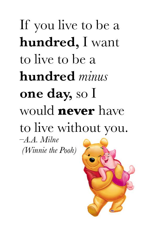 A A Milne Winnie The Pooh Love Quote