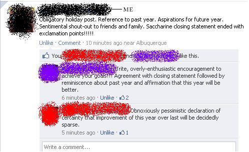New Years Observances On Facebook To Help You Through Your Hangover