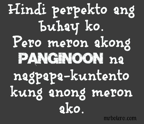 Tagalog Inspirational Quotes Collections Or You