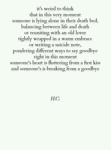 I Never Wanted To Say Goodbye
