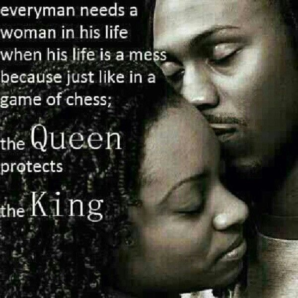 Queen Protects Her King