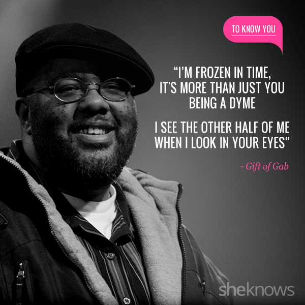 Love Quotes Inspired By Rap Songs Gift Of Gab