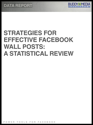 What Makes A Great Facebook Wall Post