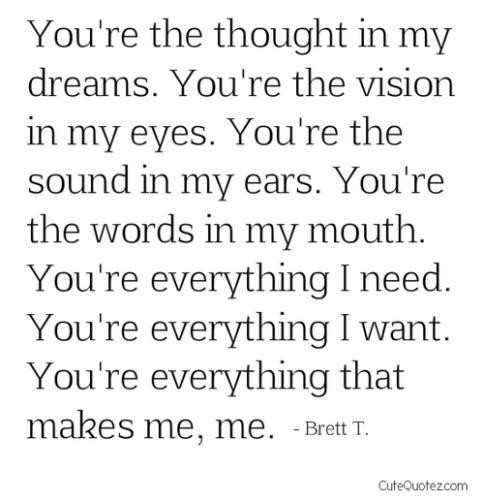 Cute Love Quotes For Boyfriend Tumblr