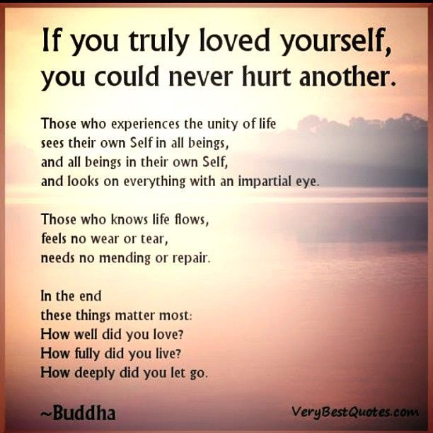 Buddha Quotes Love Yourself Quotes Never Hurt Others Quotes