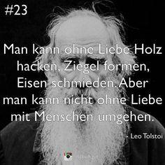 Tolstoi Zu Lieben Ist Segen Geliebt Zu Werden Gluck Zitate Von Tolstoi Pinterest