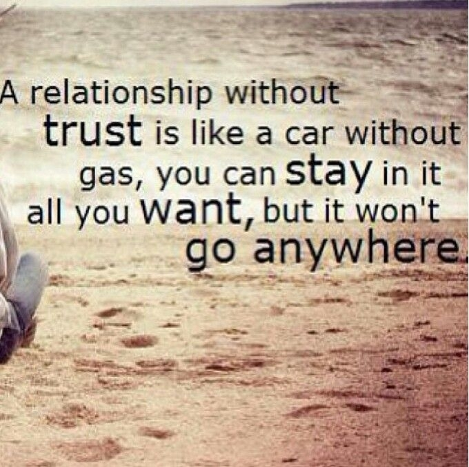 A Relationship Without Trust Love Quotes