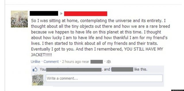 Funny Love Quotes Break Up Funny Breakup Guy Writes Hilarious Facebook Wall Post To Ex After