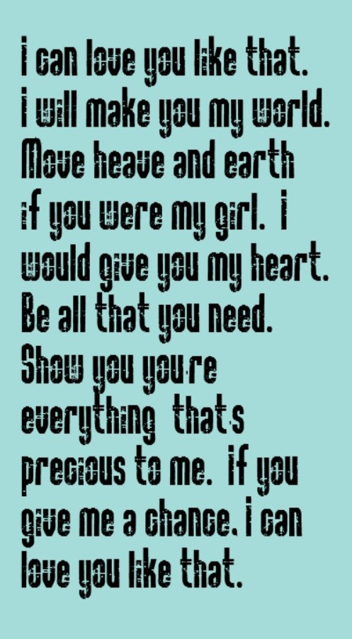 John Michael Montgomery I Can Love You Like That Song Lyrics Music Lyrics Song Quotes Music Quotes Songs I Love This Song
