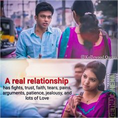Kadhal Kan Kattudhe Movie Love Quotes And Memes