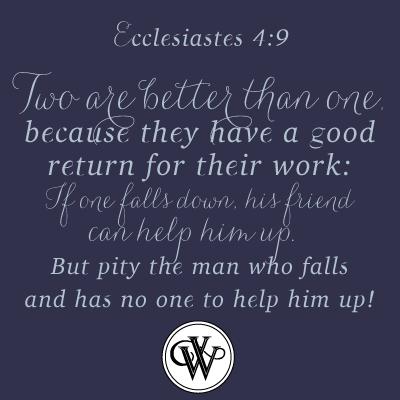 Ecclesiastes  Inspirational Bible Verse