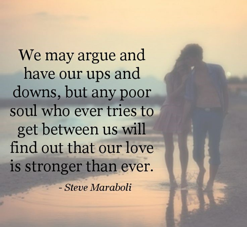 Strength Of True Love Can Endure All The Ups And Downs
