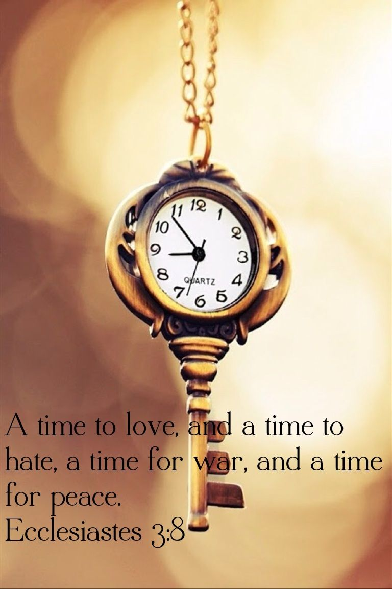 A Time To Love Beautiful Bible P Ages