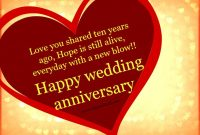 Th Anniversary Wishes For Husband