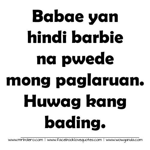 Best Tagalog Quotes Mga Patama Love Quotes