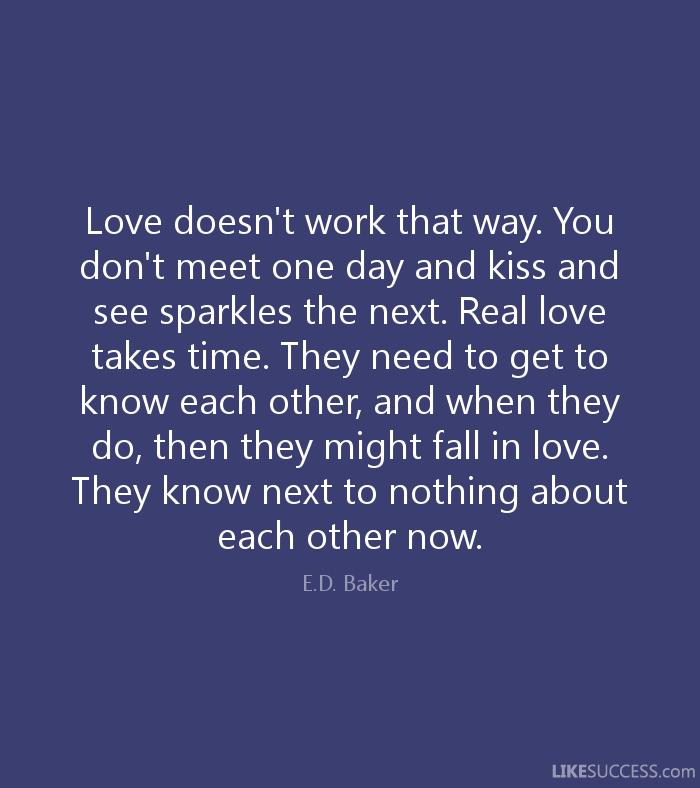 Quotes Love Takes Time Love Takes Time Quotes Like Success