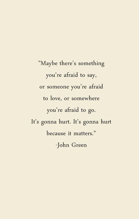 Glitter In Wonderland I Love This Riches For Rags John Green Quotesafraid