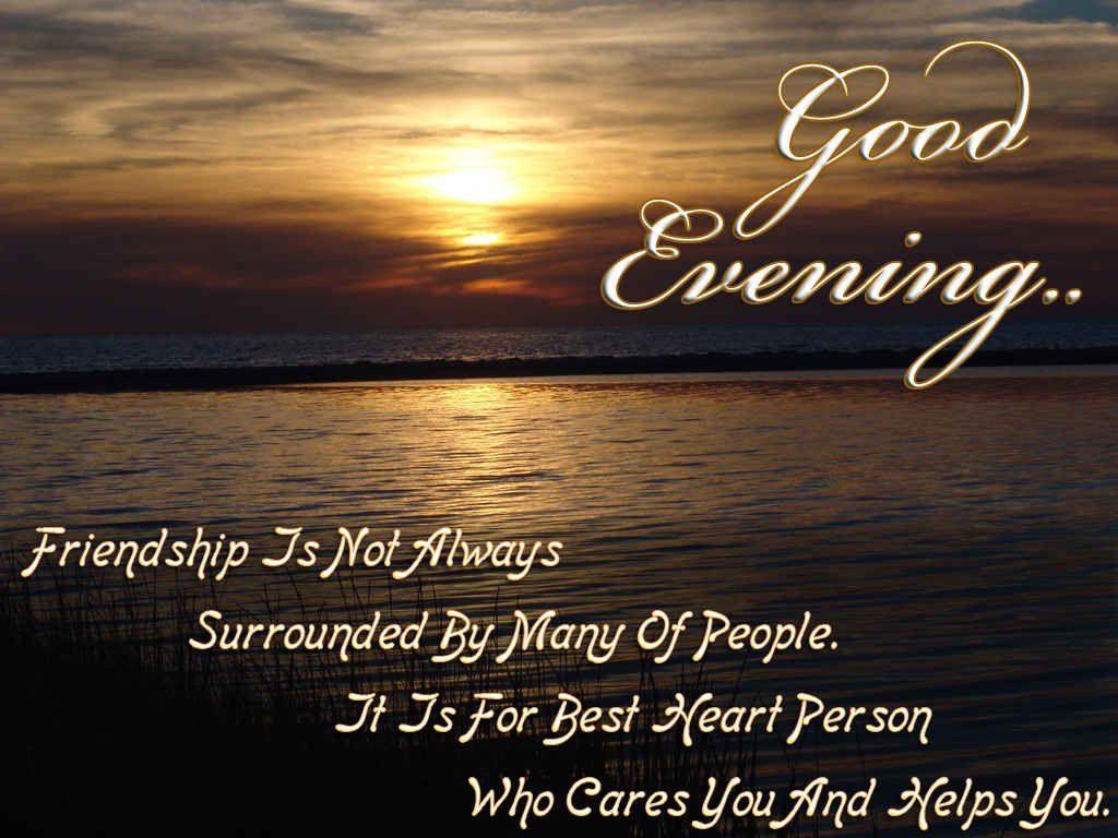 Evening Quotes