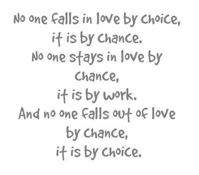 Quotes About Change And Love Love Quotes Stays Work Falls Choice Chance Online Free Quotes
