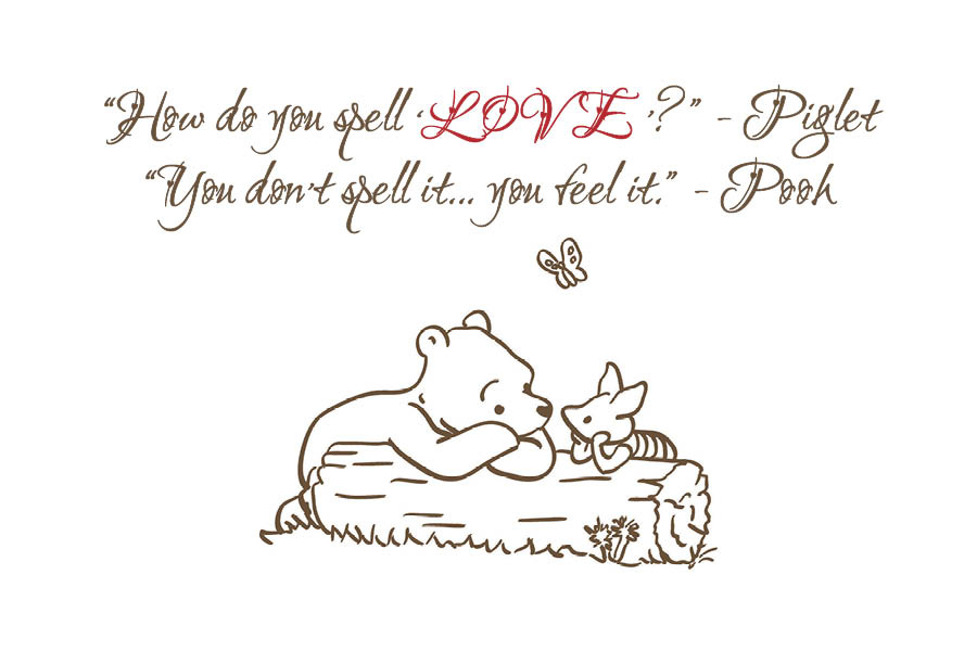 Love Quote Piglet Winnie The Pooh By Maddieandmarry