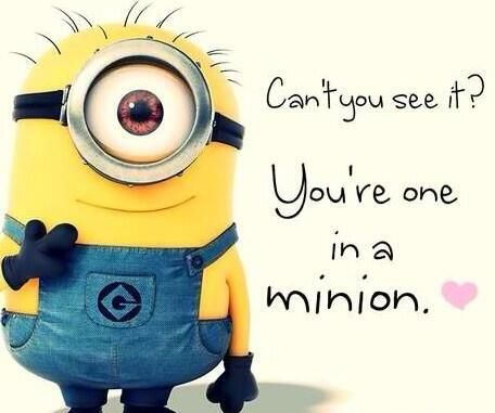 Youre One In A Minion Im Totally Turning This