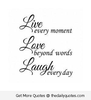Live Love Laugh Quote Tattoo Idea For Me