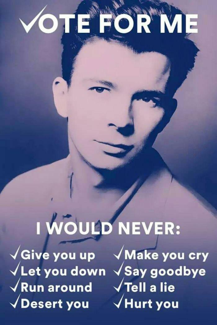 The Classic Rickroll