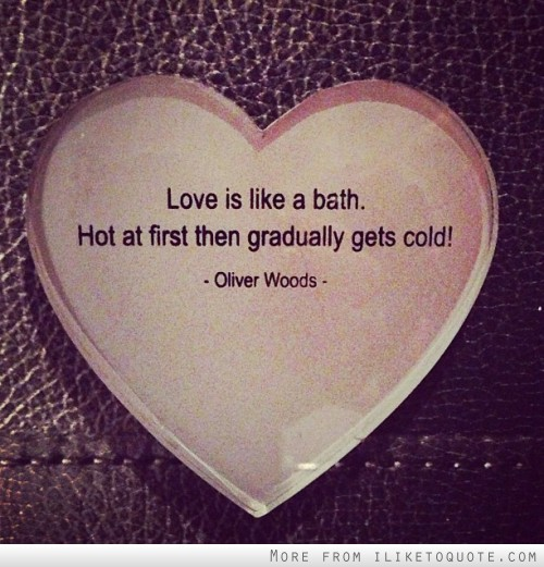 Cold Love Quotes Sayings