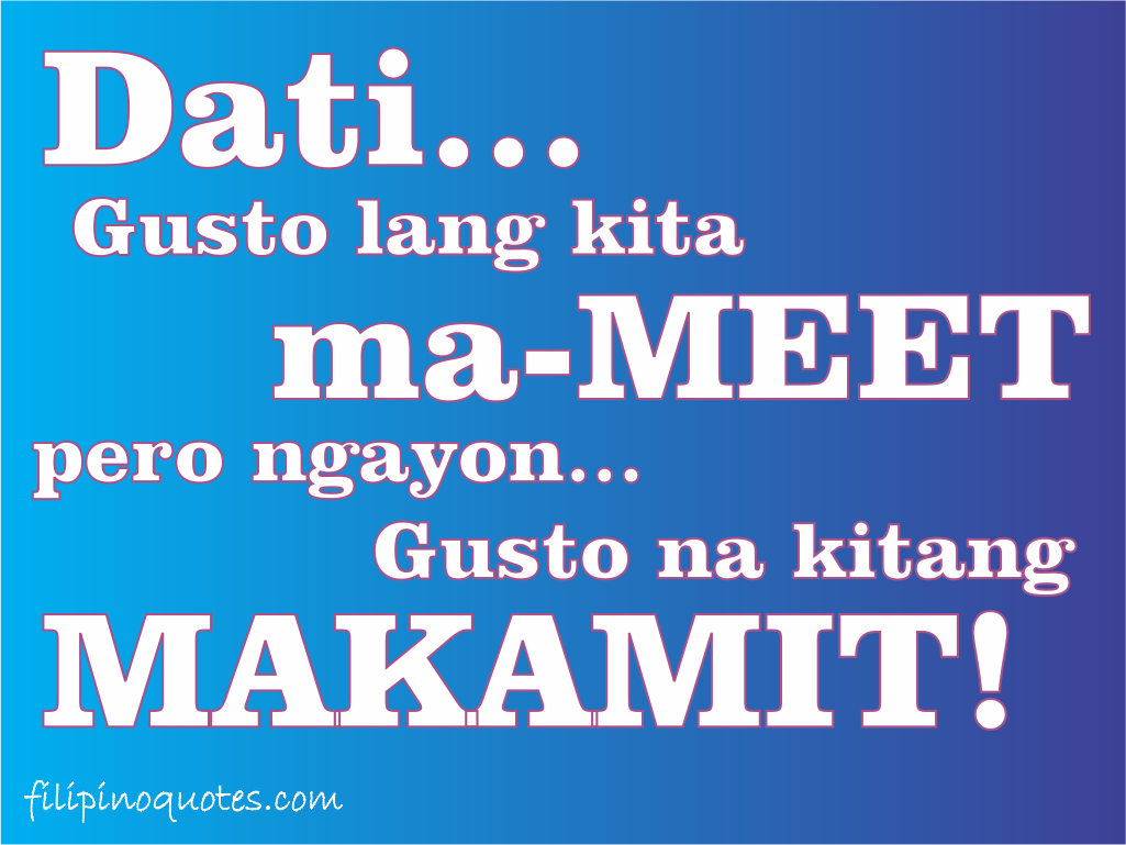 Love Quotes In Tagalog Language Hover Me