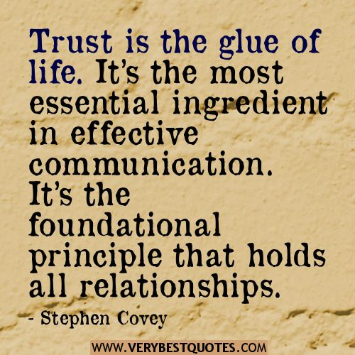 Relationship Quotes Trust Quotes Stephen Covey Quotes Cute Love Quotes