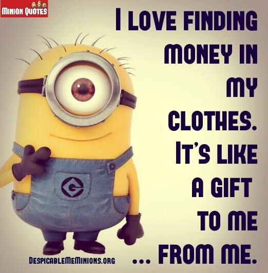 Minion Funny Money Quotes Like Success
