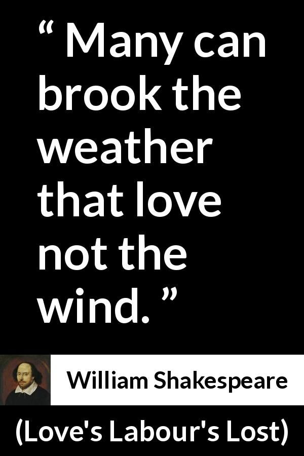 William Shakespeare Quote About Wind From Loves Labours Lost  Shakespeare And Love S