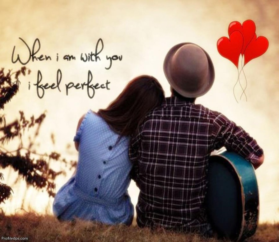 Cute Couple Love Quotes Dp | Hover Me