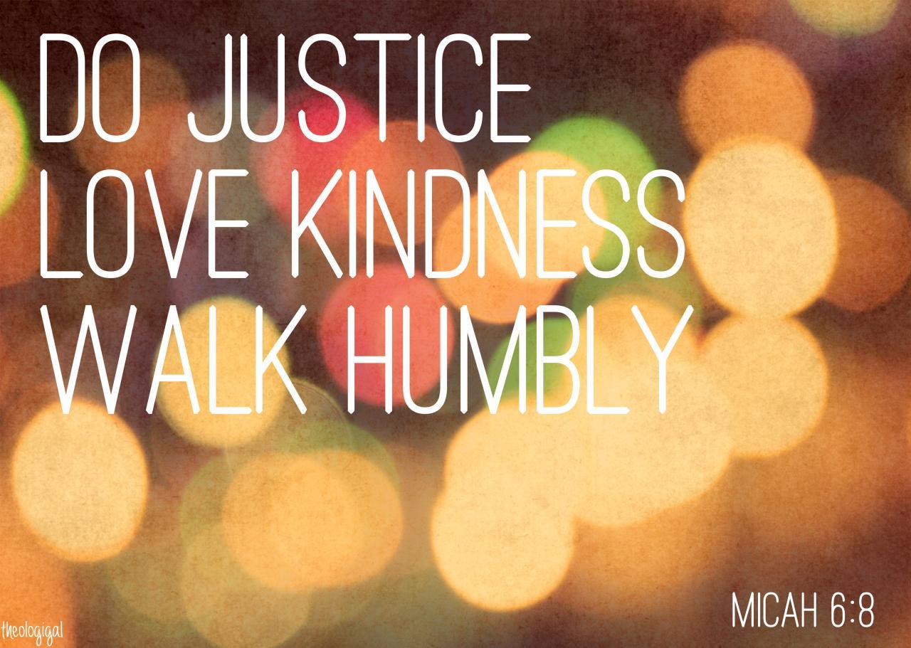 We Bible Verses Justice X