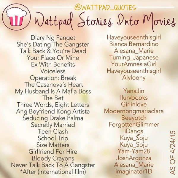 Wattpad Quotes Followed