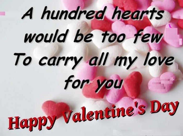 All My Love Valentines Day Quotes
