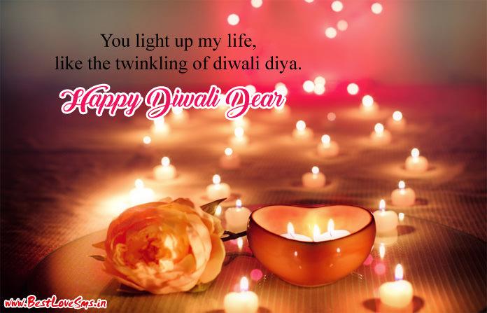 Diwali Love Status