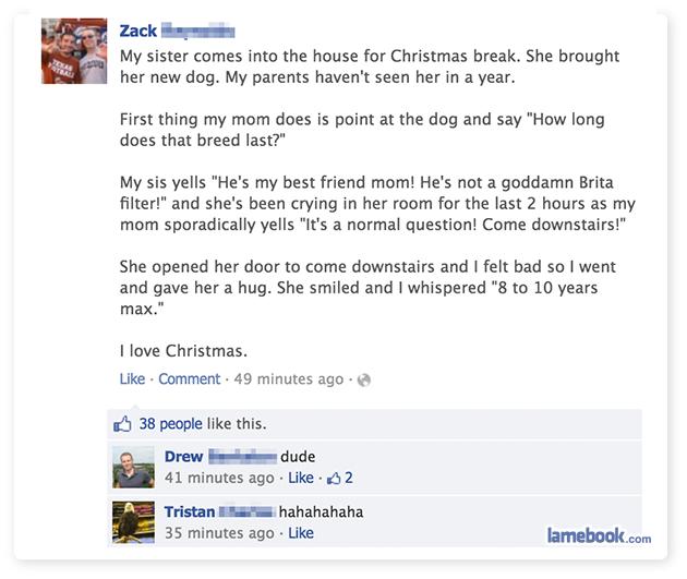 A Savage Family Christmas