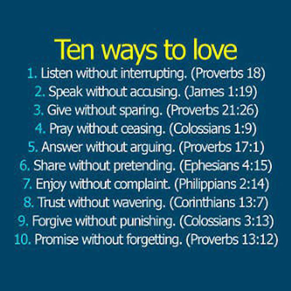 Inspirational Quotes On Love From The Bible | Hover Me