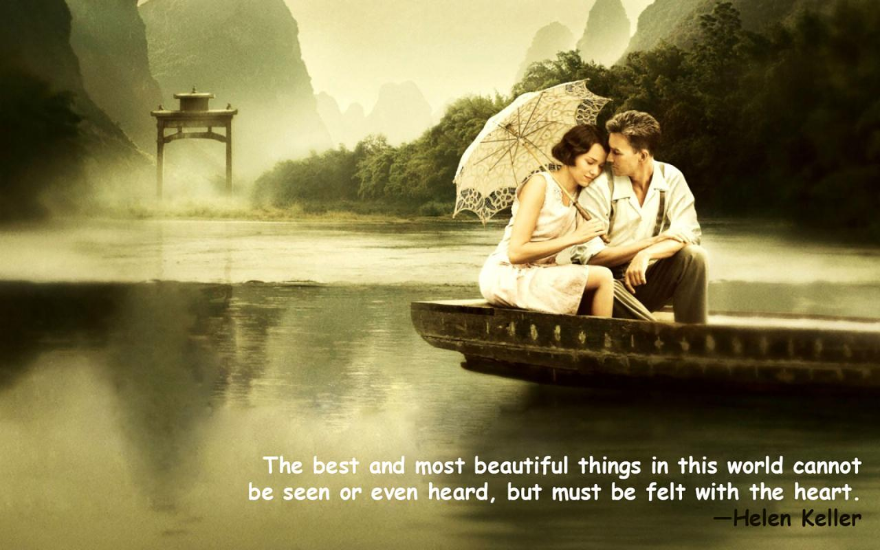 Love Quotes Wallpaper Romantic Couple Images With