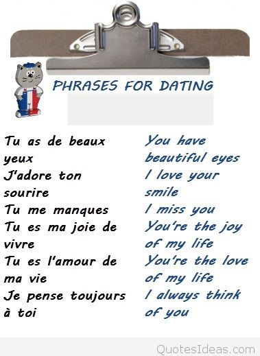 Love Quotes For Him In French Hover Me